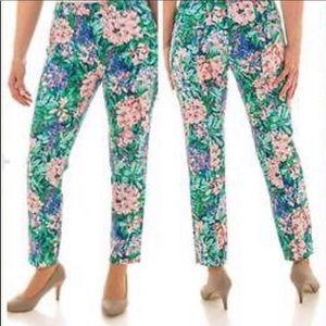 Buy 2 Get 2🎁Zara Floral Print Trousers
